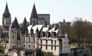 Château et donjon de Loches proche du Relais du Plessis, en Touraine