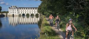 Séjour à vélo châteaux de la Loire proche résidence