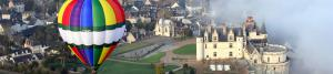 Séance de Montgolfière proche Châteaux de la Loire